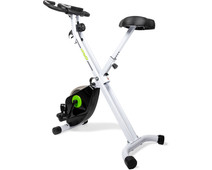 VirtuFit Collapsible Exercise Bike with Tablet Holder