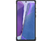 Samsung Galaxy Note 20 Protective Standing Back Cover Zilver