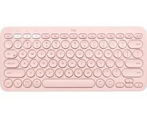Logitech K380 Wireless Keyboard QWERTY Pink