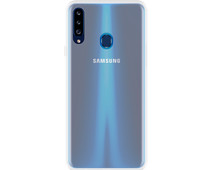 Just in Case Soft Design Samsung Galaxy A20s Back Cover Transparant