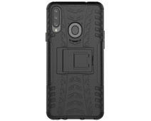 Just in Case Rugged Hybrid Samsung Galaxy A20s Back Cover Zwart