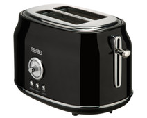 Bourgini Retro Toaster Black