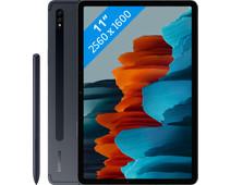 Samsung Galaxy Tab S7 256GB Wifi + 4G Zwart