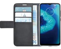 Azuri Wallet Motorola Moto G8 Power Lite Book Case Zwart
