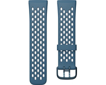 Fitbit Versa 3/Sense Silicone Strap Sapphire/Fog Grey S