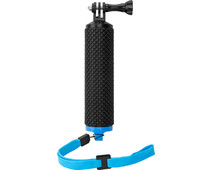 Caruba Padded Floating Handgrip GoPro Mount Blue