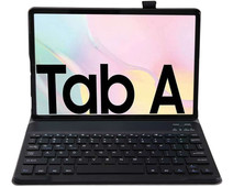 Just in Case Samsung Galaxy Tab A7 (2020) Premium Toetsenbord Hoes Zwart QWERTY