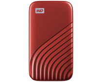 WD My Passport 500GB SSD Red