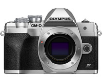 Olympus OM-D E-M10 Mark IV Body Silver
