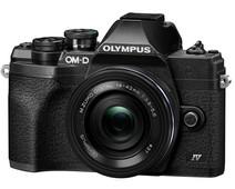 Olympus OM-D E-M10 Mark IV Zwart + EZ 14-42mm f/3.5-5.6 Zwart