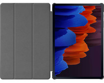 Just in Case Tri-Fold Samsung Galaxy Tab S7 Book Case Rood