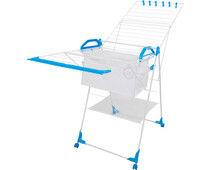 BlueBuilt Drying Rack 25 Meters with Laundry Basket, Clothespins, and Wash Bag