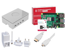 Raspberry Pi 4 Model B 4GB Starter Kit WHITE