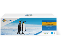 G&G TK-5220 Toner Cartridge Cyan
