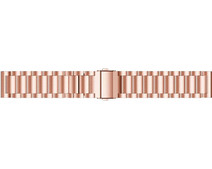 Just in Case Samsung Galaxy Watch3 41mm Stainless Steel Band Rose Gold
