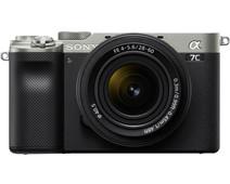 Sony A7C Silver + 28-60mm f/4-5.6 Black