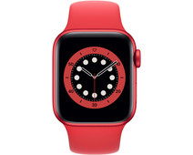 Apple Watch Series 6 40mm RED Aluminum RED Sport Band