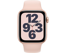 Apple Watch SE 44mm Gold Aluminum Pink Sand Sport Band