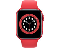 Apple Watch Series 6 44mm RED Aluminum RED Sport Band