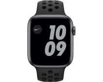 Apple Watch Nike Series 6 44mm Space Gray Aluminum Black Sport Band