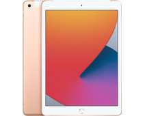 Apple iPad (2020) 10.2 inch 32 GB Wifi + 4G Goud