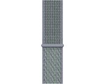 Apple Watch 42/44mm Nylon Sport Loop Nike Watch Strap Obsidian Mist