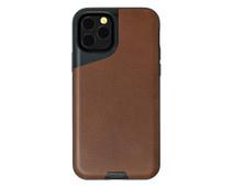Mous Contour Apple iPhone 11 Pro Max Back Cover Leer Bruin