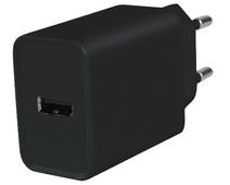 Azuri Charger with USB-A Port 12W Black