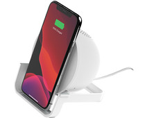 Belkin BoostCharge Wireless Charger 10W with Stand and Speaker White