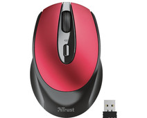 Trust Zaya Rechargeable Wireless Compact Mouse Red