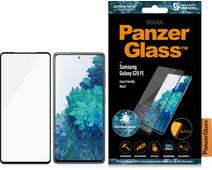PanzerGlass Case Friendly Samsung Galaxy S20 FE Screenprotector Glas Zwart