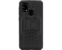 Just in Case Soft Design Samsung Galaxy M31 Back Cover Zwart
