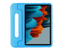 Just in Case Kids Case Samsung Galaxy Tab S7 Cover Blauw