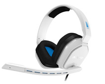 Astro A10 Gaming Headset for PC, PS5, PS4, Xbox Series X/S, Xbox One - White/Blue