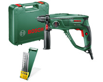 Bosch PBH 2100 RE + drill and chisel set