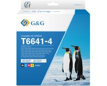 G&G T664 Ink Bottles Combo Pack