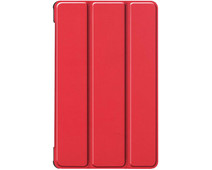 Just in Case Smart Tri-Fold Lenovo Tab M8 FHD Book Case Rood