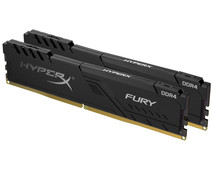 HyperX 16GB 3200MHz DDR4 CL16 DIMM (Kit or 2) 1Rx8 HyperX FURY Black
