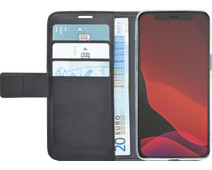 Azuri Wallet Apple iPhone 12 Pro Max Book Case Zwart