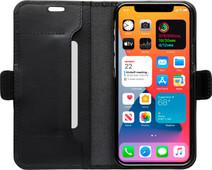DBramante1928 Copenhagen Slim Apple iPhone 12 / 12 Pro Book Case Leer Zwart