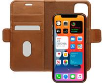 DBramante1928 Lynge Apple iPhone 12 mini Book Case Leer Bruin