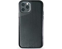Mous Contour Apple iPhone 11 Pro Back Cover Leer Zwart