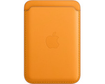 Apple Leather Wallet for iPhone with MagSafe California Poppy