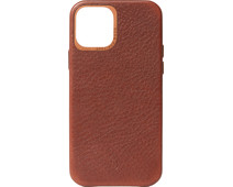 Decoded Apple iPhone 12 / 12 Pro Back Cover Leather Brown