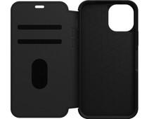 Otterbox Strada Apple iPhone 12 / 12 Pro Book Case Leer Zwart