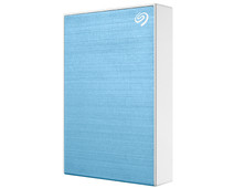 Seagate One Touch portable drive 4TB Blauw