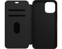 Otterbox Strada Apple iPhone 12 Pro Max Book Case Leer Zwart