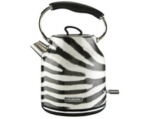 Bourgini Zebra Water Kettle 1.7L