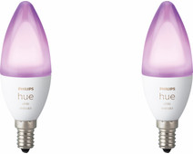 Philips Hue White and Color E14 Bluetooth Duo Pack
