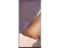 Azuri Curved Tempered Glass Samsung Galaxy Note 20 Ultra Screenprotector Rinox Armor Zwart